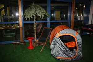 Indoor Open Air Zelt