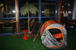 Indoor Open Air Zelt